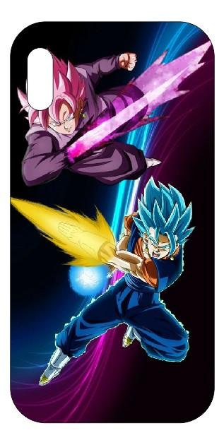 Capa de telemóvel com Goku e Vegeta