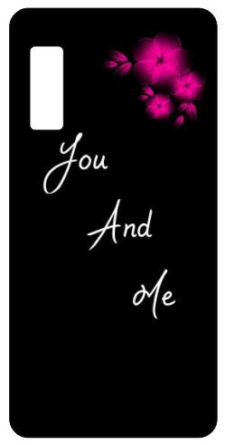 Capa de telemóvel com You and Me