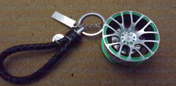 Imagens Jante com disco - Modelo 11 - Verde