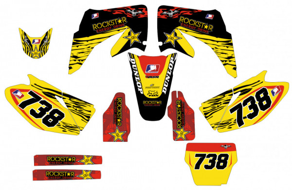 Imagens Kit Autocolantes Para Honda CR 125 / 250 02-07