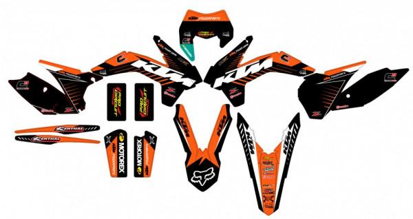 Imagens Kit Autocolantes Para  KTM SX / MX 11-12