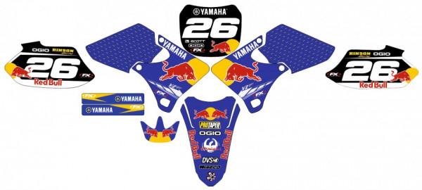 Imagens Kit Autocolantes Para Moto - Yamaha YZF 250 / 400 / 426 98-02