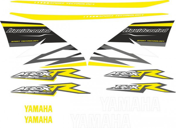 Imagens Kit Autocolantes Para  Yamaha Aerox R