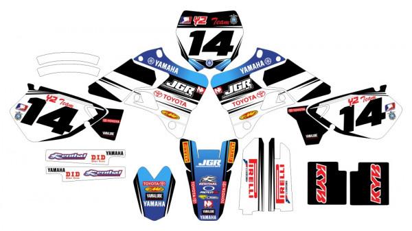 Imagens Kit Autocolantes Para Yamaha YZ / WR 125 / 250 - 96-01