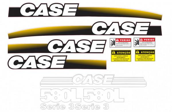 Kit de Autocolantes para CASE 580L