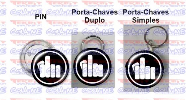 Pin / Porta Chaves - Mão