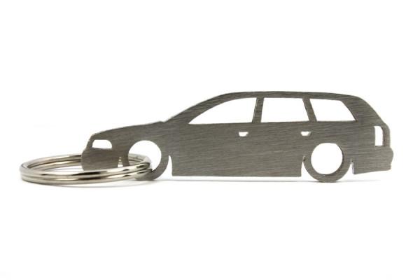 Porta Chaves em inox com silhueta com Audi A4 B5 wagon