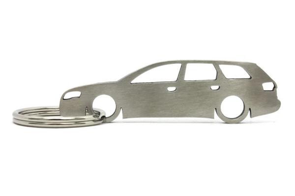 Imagens Porta Chaves em inox com silhueta com Audi A4 B7 wagon