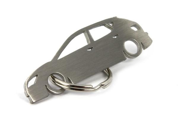 Porta Chaves em inox com silhueta com Seat Ibiza 6J 5P