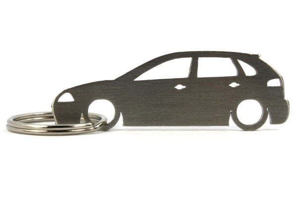 Porta Chaves em inox com silhueta com Seat Ibiza 6L 5P