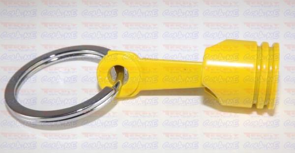 Porta Chaves - Pistão - Amarelo