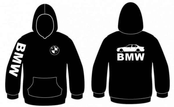 Sweatshirt com capuz para BMW E34