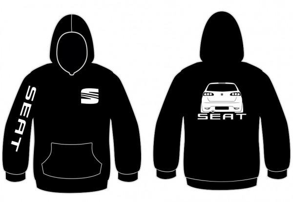 Imagens Sweatshirt com capuz para Seat Ibiza 6L Traseira