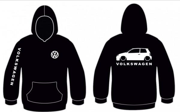 Imagens Sweatshirt com capuz para Volkswagen Lupo