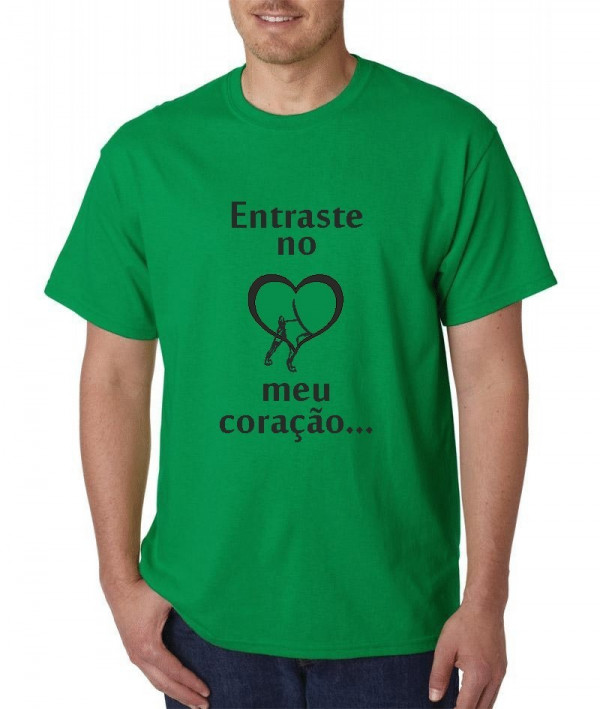 Imagens T-shirt  - Encontras-te no meu coração