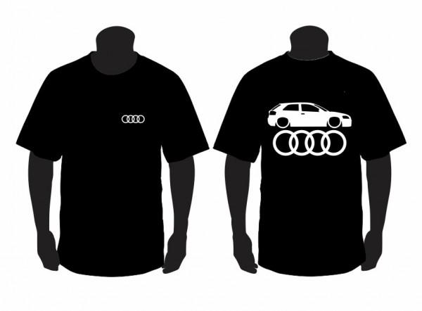 Imagens T-shirt  para Audi A3 8P Lateral