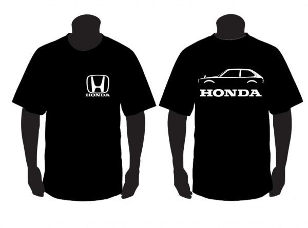 Imagens T-shirt para Honda Civic segunda geração