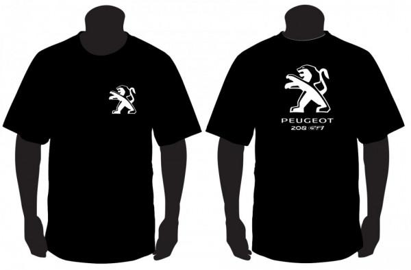 Imagens T-shirt para Peugeot 208 GTI