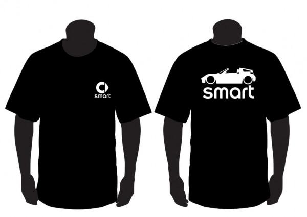 T-shirt  para  Smart Roadster Coupe