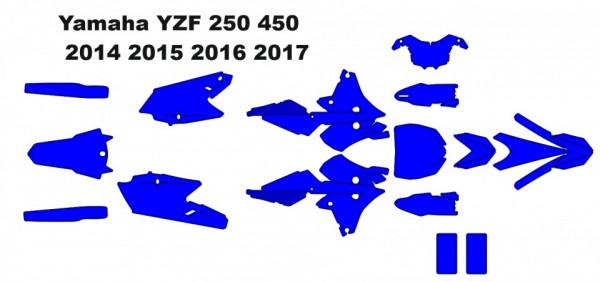 Yamaha YZF 250 450 MX Motocross 2014 2015 2016 2017