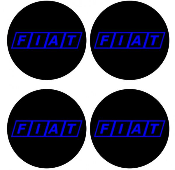 Imagens 4 Autocolantes Para Centros de Jantes para Fiat