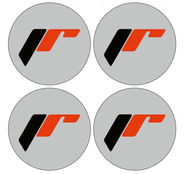 4 Autocolantes Para Centros de Jantes para Japan Racing
