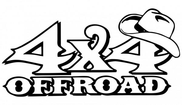 Autocolante - 4x4 off road