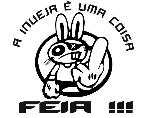 Imagens Autocolante - A inveja é uma coisa feia !!! 7