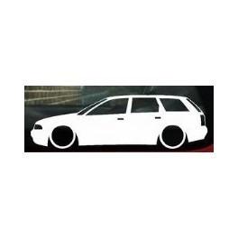 Autocolante - Audi A4 B5 Carrinha