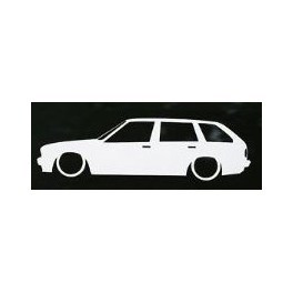 Autocolante - BMW E30 Touring