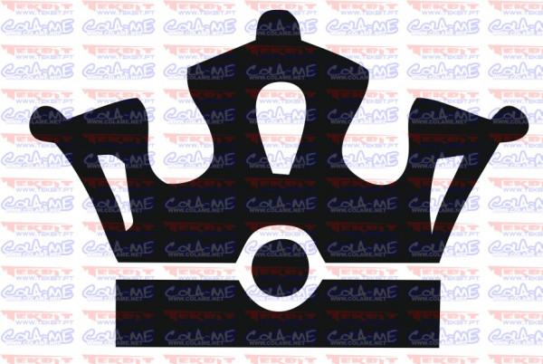Autocolante - Coroa 13