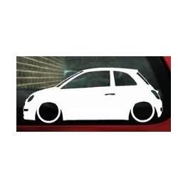 Autocolante - Fiat 500