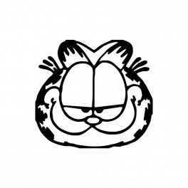 Autocolante - Garfield 4