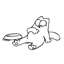 Autocolante - Gato 5