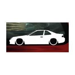 Autocolante - Honda Prelude