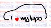 Imagens Autocolante - I Love my Lupo