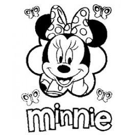 Autocolante - Minnie 2