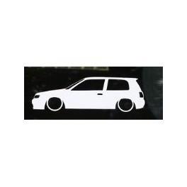 Autocolante - Nissan Sunny