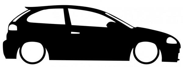 Autocolante - Seat Ibiza 6L