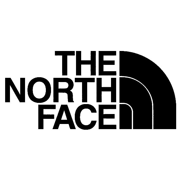Imagens Autocolante - The north face