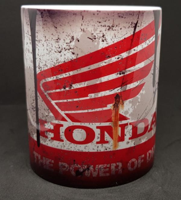 Caneca com Honda (Mota)