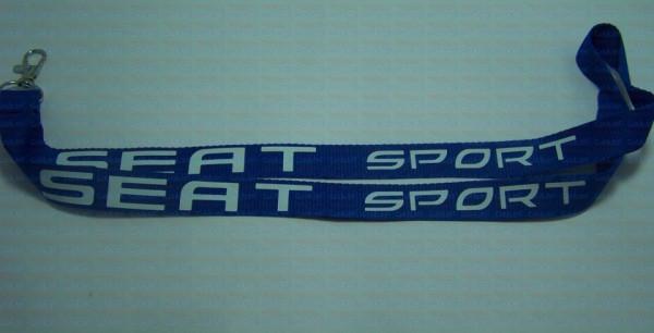 Fita Porta Chaves - Seat Sport