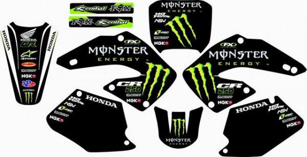 Imagens Kit Autocolantes Para Honda CR 125 / 250 00-01