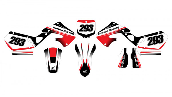 Imagens Kit Autocolantes Para Honda CR 125 - 250 97-99