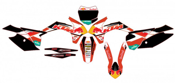 Kit Autocolantes Para KTM SX / MX 13-15