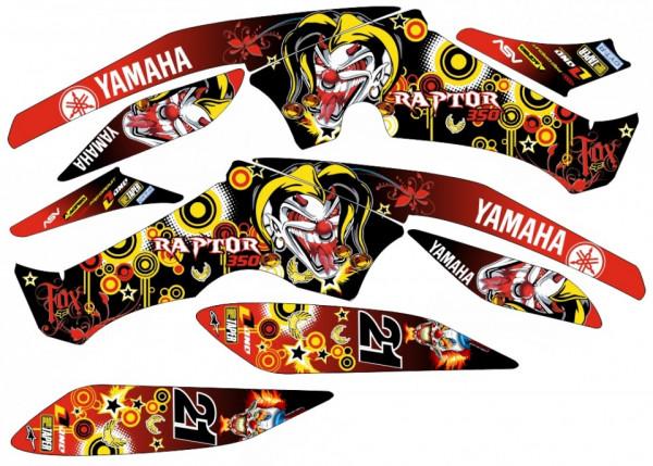 Imagens Kit Autocolantes Para Yamaha Raptor 350