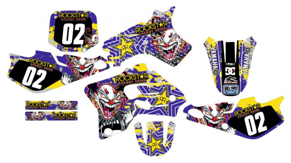 Imagens Kit Autocolantes Para Yamaha YZ 80 93-01