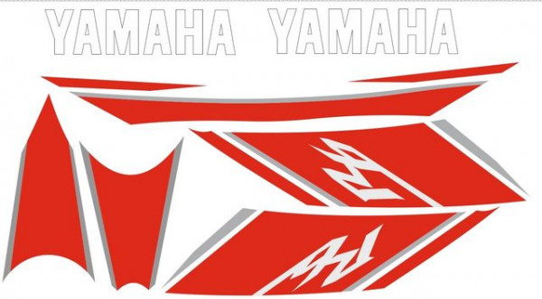 Imagens Kit Autocolantes Para YAMAHA YZF R6 2008