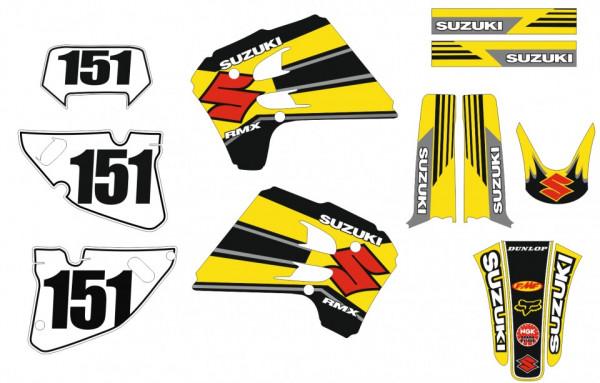 Imagens Kit Autocolantes Suzuki RMX 250 93-95