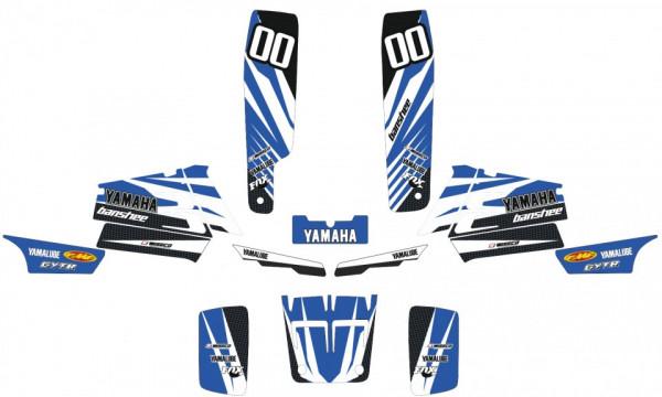 Imagens Kit de Autocolantes Para Yamaha Banshee 350